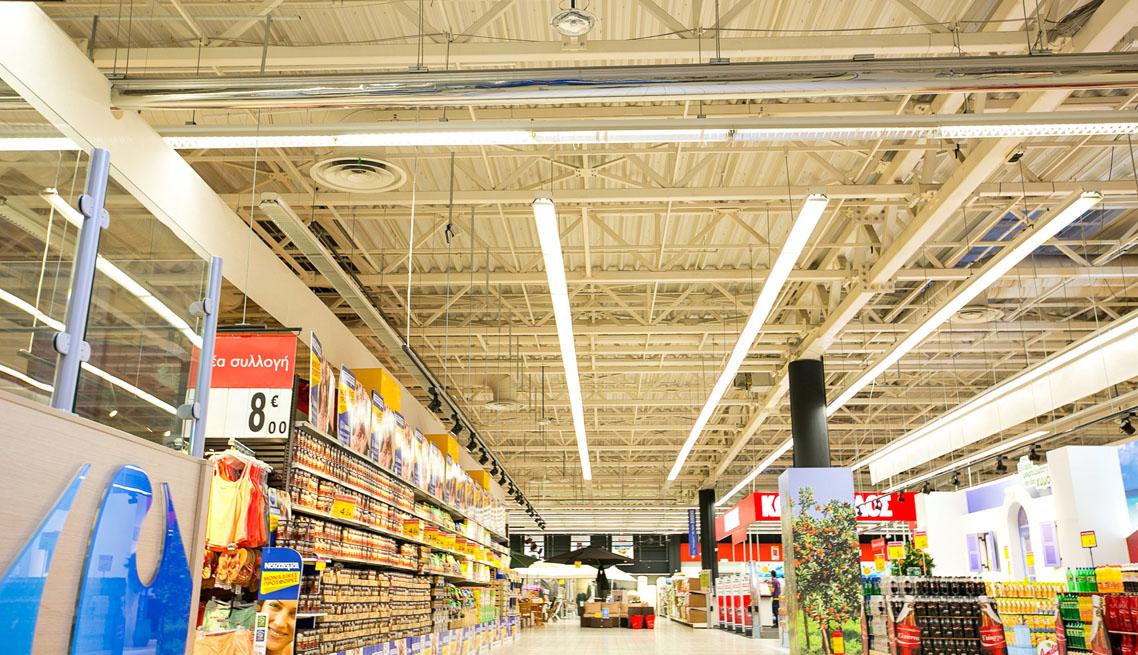 Παράδειγμα εφαρμογής φωτισμού LED σε Επιχείρηση