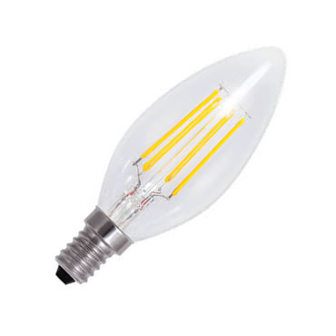 LED CANDLE FILAMENT 4W