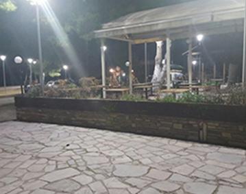 Οδοφωτισμός ιστών, Νέα Ελβετία Θεσσαλονίκης, Δήμος Θεσσαλονίκης
